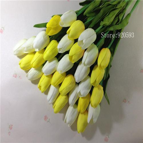 31pcslot pu mini tulip flower real touch wedding flower bouquet 31pcslot pu mini tulip flower real touch wedding flower bouquet artificial silk flowers for mightylinksfo