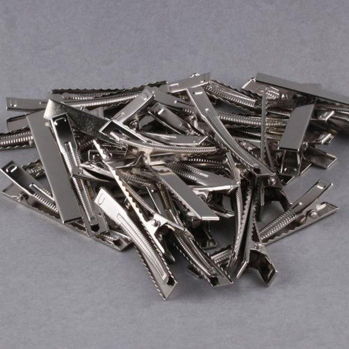 32Mm/35Mm/40Mm/45Mm/55Mm/65Mm/75Mm/95Mm Single Prong Metal Alligator Hair Clips Hairpins Korker-Hair Care & Styling-shoppingsouls-32mm-EpicWorldStore.com