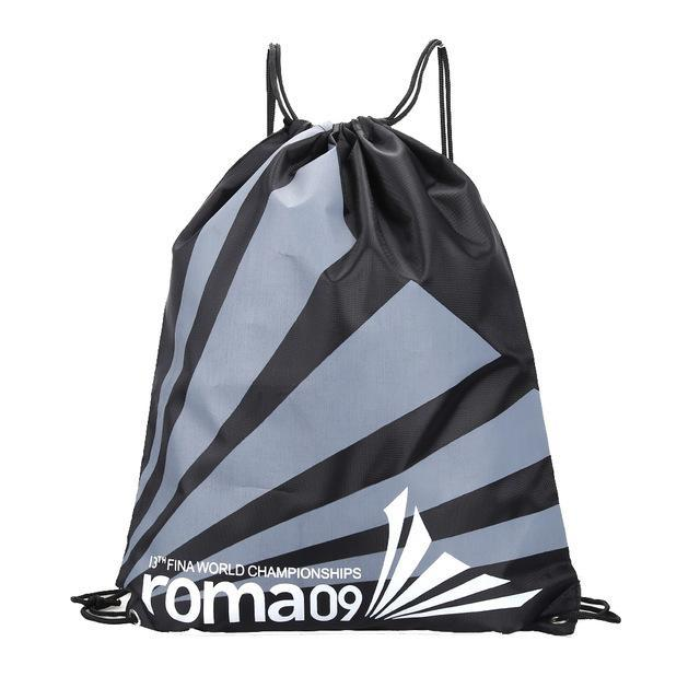 34*42Cm Double Layer Drawstring Waterproof Backpacks Colorful Shoulder Bag Swimming Bags For Outdoor-Sport Bags-Yting Outdoor Store-Black-EpicWorldStore.com