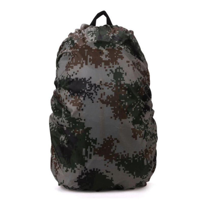 35L Outdoor Portable Waterproof Dust Rain Cover For Travel Camping Backpack Rucksack Bag Outdoor-Sport Bags-Younger Climb Store-Camouflage-EpicWorldStore.com