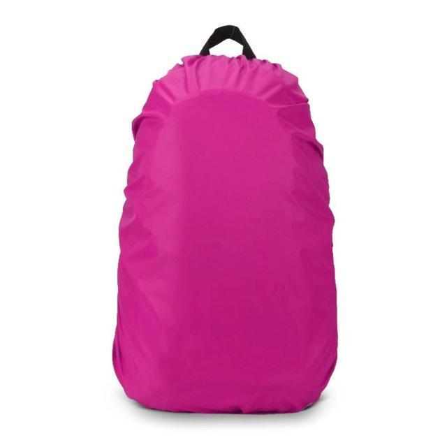 35L Outdoor Portable Waterproof Dust Rain Cover For Travel Camping Backpack Rucksack Bag Outdoor-Sport Bags-Younger Climb Store-Rose red-EpicWorldStore.com