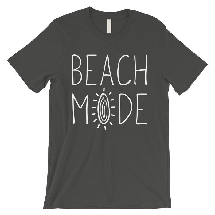 365 Printing Beach Mode Mens Relax Serene Mood Summer Tranquil T-Shirt For Gift-Apparel & Accessories-365 Printing-Cool Grey-Small-EpicWorldStore.com
