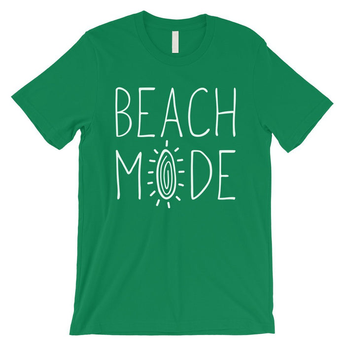 365 Printing Beach Mode Mens Relax Serene Mood Summer Tranquil T-Shirt For Gift-Apparel & Accessories-365 Printing-Green-Medium-EpicWorldStore.com