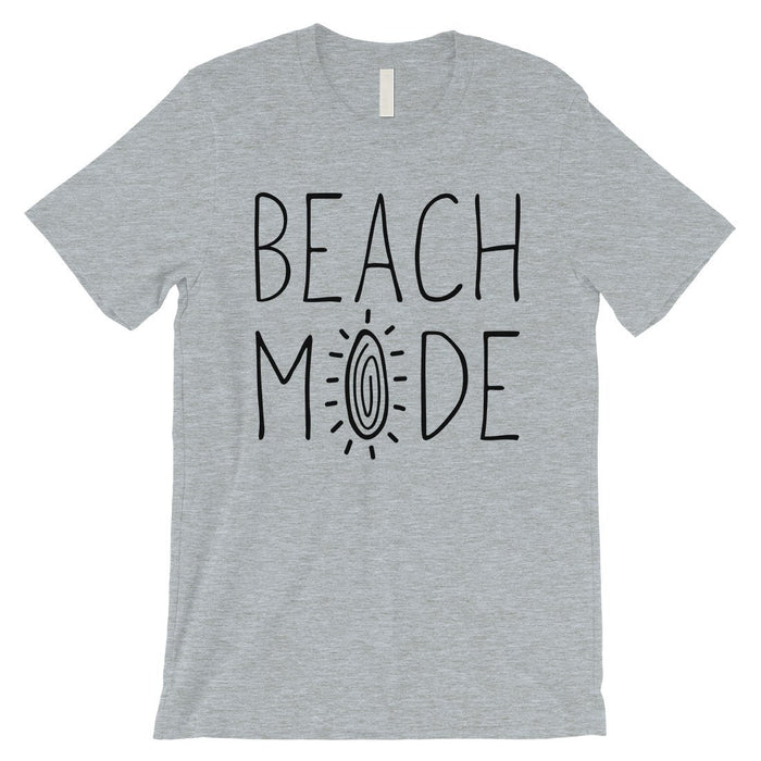 365 Printing Beach Mode Mens Relax Serene Mood Summer Tranquil T-Shirt For Gift-Apparel & Accessories-365 Printing-Heather Grey-Small-EpicWorldStore.com