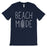 365 Printing Beach Mode Mens Relax Serene Mood Summer Tranquil T-Shirt For Gift-Apparel & Accessories-365 Printing-Navy-Small-EpicWorldStore.com