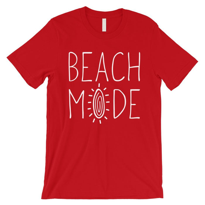 365 Printing Beach Mode Mens Relax Serene Mood Summer Tranquil T-Shirt For Gift-Apparel & Accessories-365 Printing-Red-XX-Large-EpicWorldStore.com