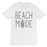 365 Printing Beach Mode Mens Relax Serene Mood Summer Tranquil T-Shirt For Gift-Apparel & Accessories-365 Printing-White-X-Large-EpicWorldStore.com
