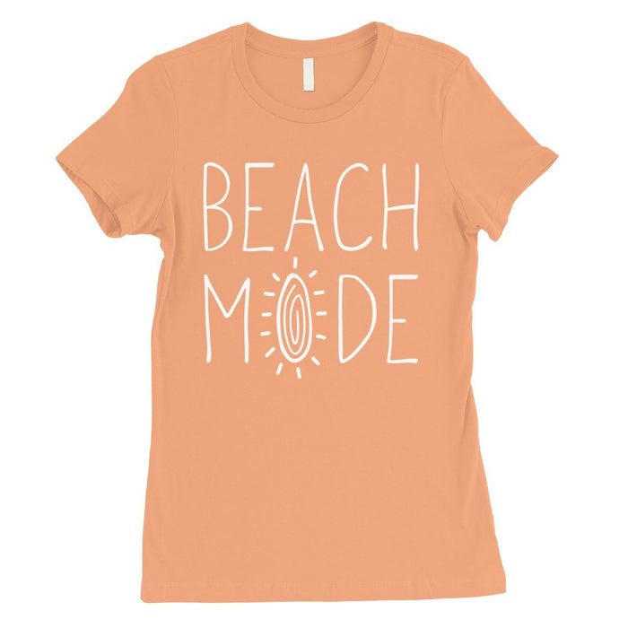365 Printing Beach Mode Womens Simplicity Excitement Summer Vacation T-Shirt-Apparel & Accessories-365 Printing-Hot Pink-X-Large-EpicWorldStore.com