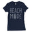 365 Printing Beach Mode Womens Simplicity Excitement Summer Vacation T-Shirt-Apparel & Accessories-365 Printing-Navy-Large-EpicWorldStore.com