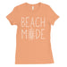 365 Printing Beach Mode Womens Simplicity Excitement Summer Vacation T-Shirt-Apparel & Accessories-365 Printing-Peach-Small-EpicWorldStore.com