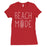 365 Printing Beach Mode Womens Simplicity Excitement Summer Vacation T-Shirt-Apparel & Accessories-365 Printing-Red-XX-Large-EpicWorldStore.com