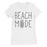 365 Printing Beach Mode Womens Simplicity Excitement Summer Vacation T-Shirt-Apparel & Accessories-365 Printing-White-XX-Large-EpicWorldStore.com
