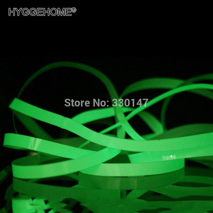3M / Roll Luminous Tape Self-Adhesive Glow In The Dark Safety Stage Home Decorations Warning Tape-C&H Acrylic Mirror Home Decor-20mm x 3M-EpicWorldStore.com