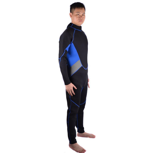3Mm Neoprene Scuba Dive Wetsuit For Men Spearfishing Wet Suit Surf Diving Equipment Split Suits-Water Sports-XiaoTian Store-black-S-EpicWorldStore.com
