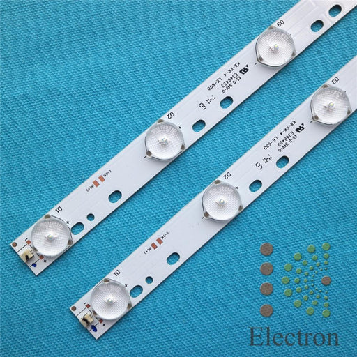 3Pcs 32'' 570Mm*17Mm 10Leds Led Backlight Lamps Led Strips W/ Optical Lens Fliter For Tv Monitor-Industrial Computer & Accessories-KcElectron Store-EpicWorldStore.com