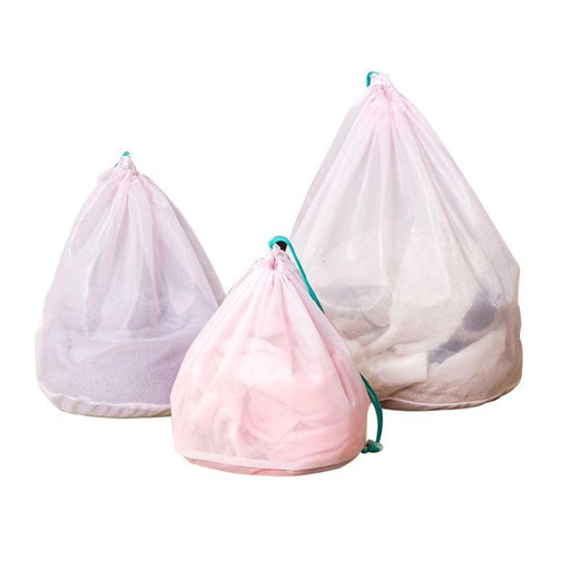 3Pcs/Set Mesh Laundry Bags Baskets For Bra Underwear Clothes Lingerie House Cleaning Tool Washing-Household Cleaning-BAKINGCHEF Store-EpicWorldStore.com