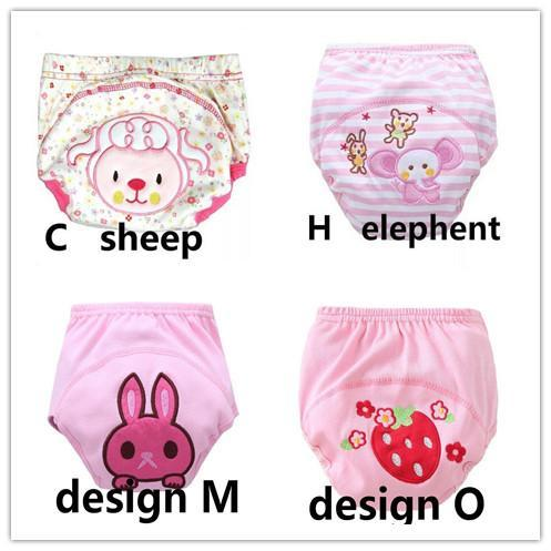 4Pcs Size 100 Baby Training Pants Cotton Reusable Baby Diapers Cloth Nappies Washable Diapers Bamboo-Toilet Training-Frist-class baby & kids-EpicWorldStore.com