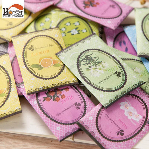 5 Pcs/Lot Mini Natural Flowers Sachet Dehumidified Air Freshener For Home Car Wardrobe Drawer-Household Merchandises-Cushaw House-Cologne-EpicWorldStore.com
