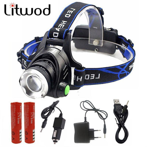 5000 Lumens Led Headlamp Cree Xm-L T6 / L2 Led Headlights Lantern 4 Mode Waterproof Torch Head 18650-Portable Lighting-Litwod Store-OPtion A-L2-EpicWorldStore.com