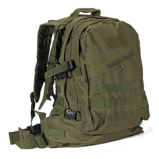 55L 3D Outdoor Sport Military Tactical Climbing Mountaineering Backpack Camping Hiking Trekking-Sport Bags-Yting Outdoor Store-ArmyGreen-EpicWorldStore.com