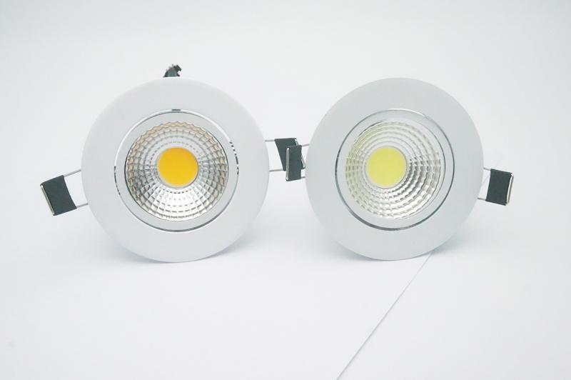 official photos 878eb 7bbca 5W 7W 9W 12W Dimmable Led Downlight 110V 220V Spot Led Downlights Wholesale  Dimmable Cob Led Spot