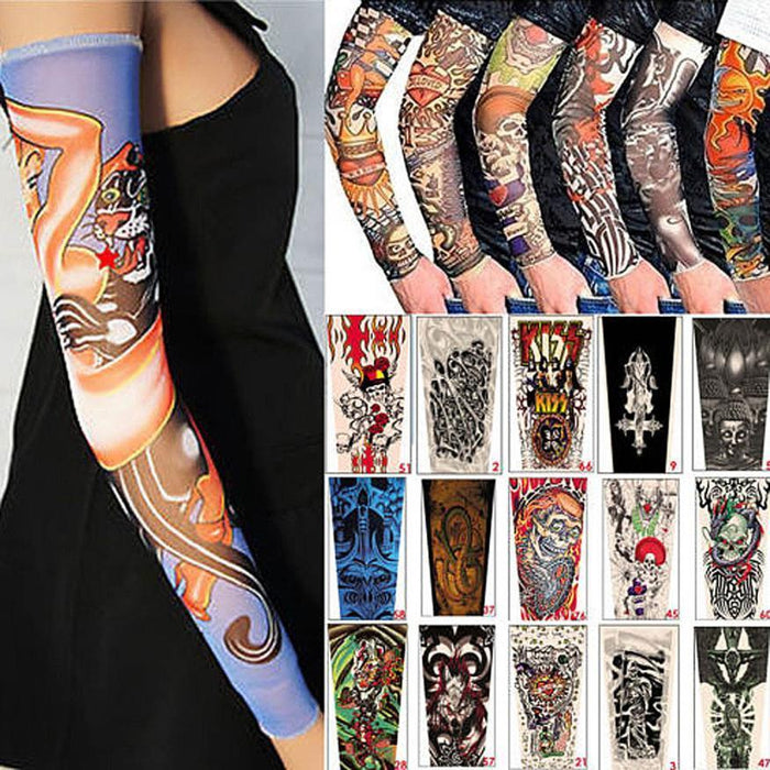 Men Tattoo Sleeves Fake