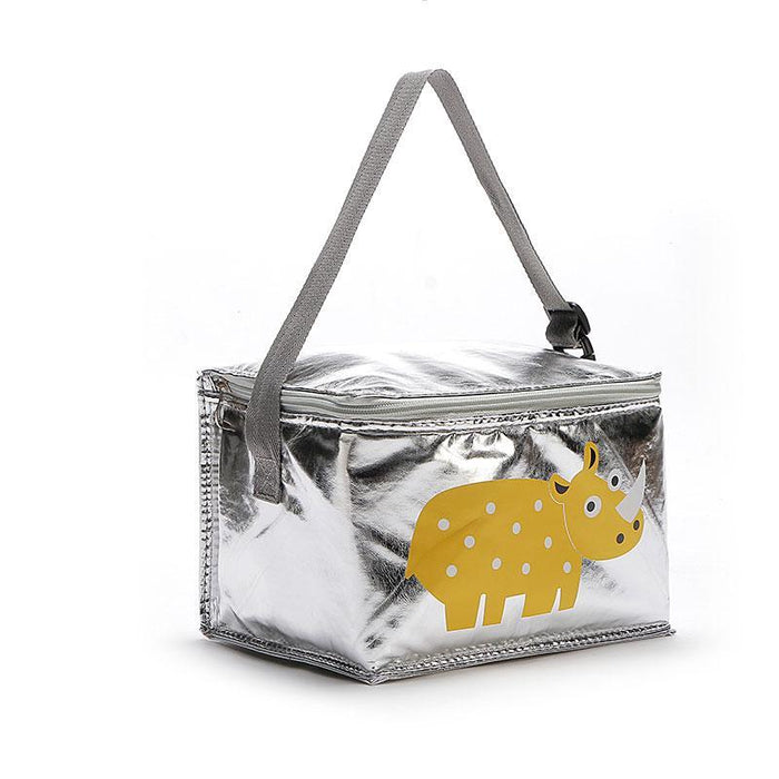 6L Lunch Bags Cartoon Animal Thermal Peva For Kids Food Picnic Cooler Bags Insulated Storage Fresh-Functional Bags-Lovely Dreaming Store-crocodile-EpicWorldStore.com