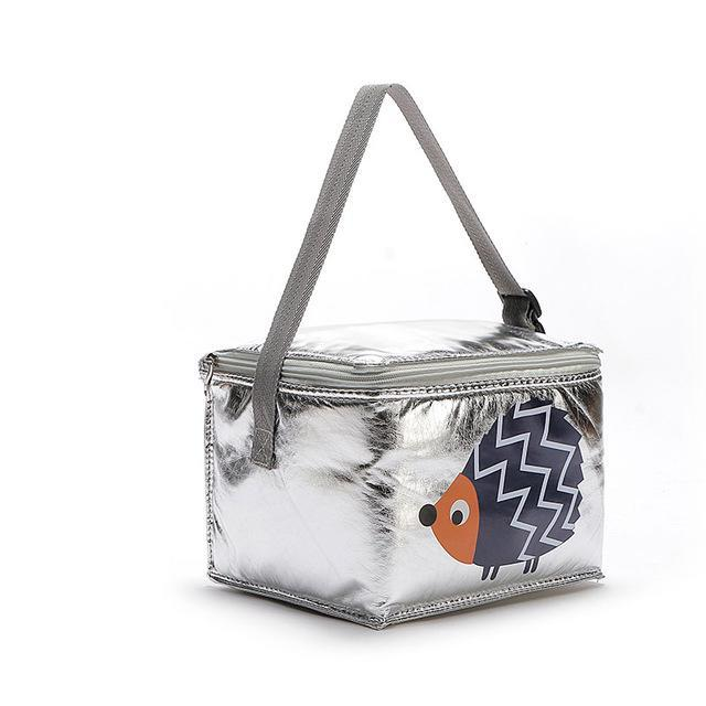 6L Lunch Bags Cartoon Animal Thermal Peva For Kids Food Picnic Cooler Bags Insulated Storage Fresh-Functional Bags-Lovely Dreaming Store-Hedgehog-EpicWorldStore.com