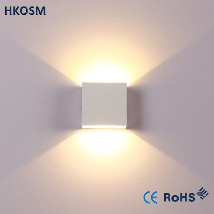 6W Dimmable Led Wall Lamp Luminaire Apliques Pared Lamparas De Pared ...