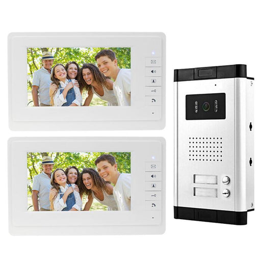 7'' Color Video Door Phone Intercom Camera With Rfid Door Access Control Keypad System Kit Set-OBO Security Store-EpicWorldStore.com