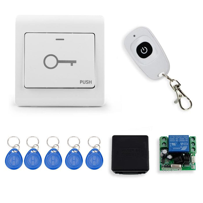 7 Color Video Door Phone Intercom Camera With Rfid Door Access