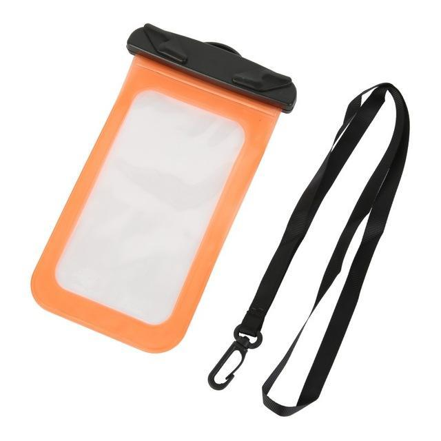 7 Colors Waterproof Multi-Style Valve Type Mini Swimming Bag For Smartphone Touch Screen Bag Phone-Sport Bags-YOU Show Store-O-EpicWorldStore.com