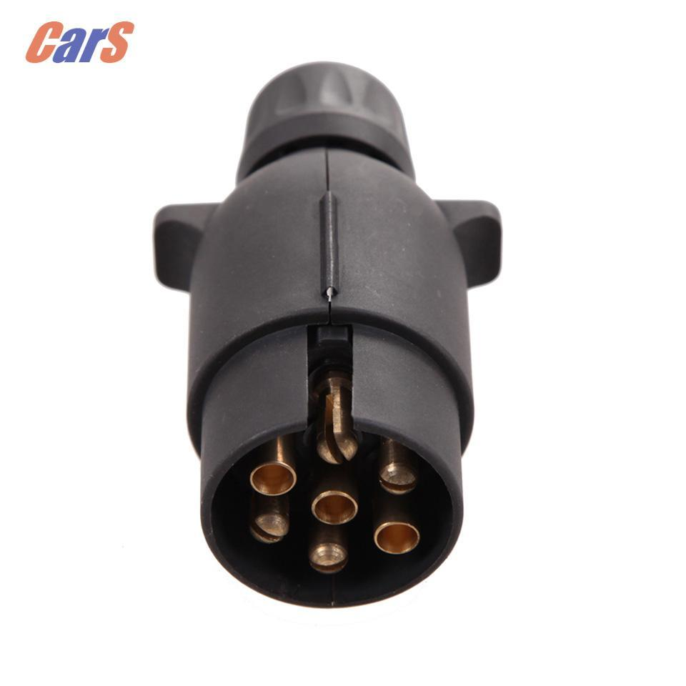 7 Pin Car Trailer Plug Socket Pole Wiring Connector 12v Towbar Boat Product Towin