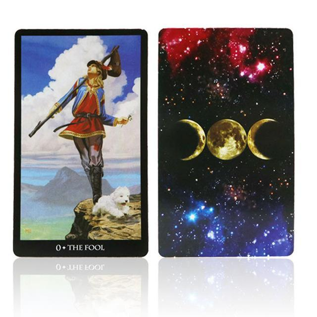7 Style Tarot Cards English Version Best Quality Board Game Playing Cards For Party Family Cards-Entertainment-Board Game Club-nvwu-EpicWorldStore.com