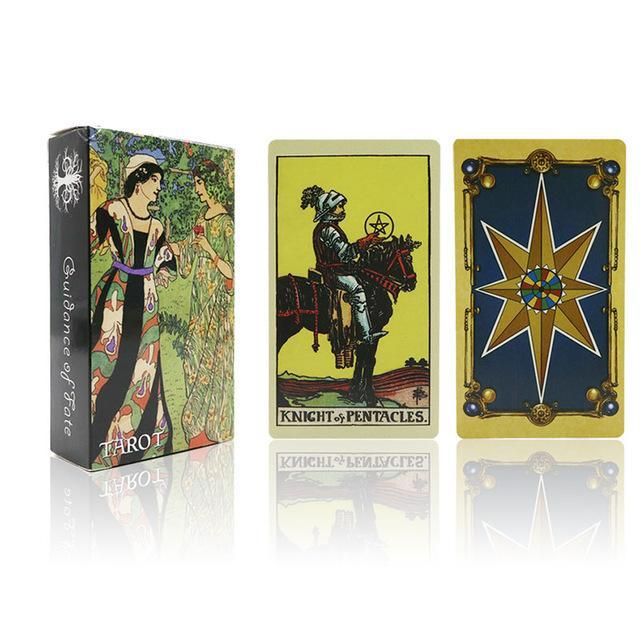7 Style Tarot Cards English Version Best Quality Board Game Playing Cards For Party Family Cards-Entertainment-Board Game Club-smith tarot-EpicWorldStore.com