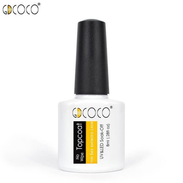 #70312 Canni Factory Supply Gdcoco Brand 8Ml Primerbase Coat, Reinfor Gel, No Wipe Top Coat, Matt-Nails & Tools-GDCOCO Official Store-NoWipe top coat-EpicWorldStore.com