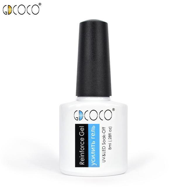 #70312 Canni Factory Supply Gdcoco Brand 8Ml Primerbase Coat, Reinfor Gel, No Wipe Top Coat, Matt-Nails & Tools-GDCOCO Official Store-Reinforce gel-EpicWorldStore.com