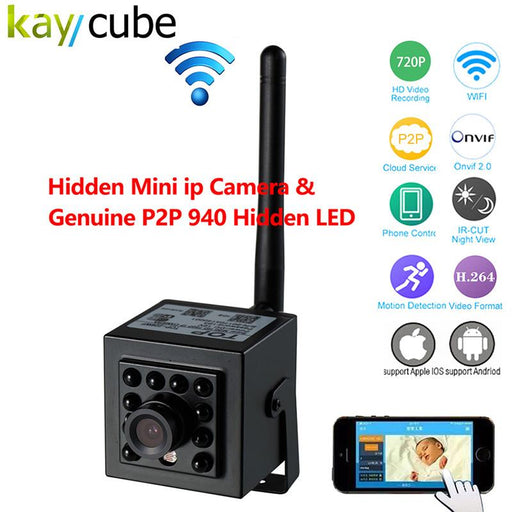 720P Ir Night Vision 940Nm Mini Wireless Video Surveillance Wifi Ip Camera P2P 940Nm Led Invisible-ShenZhen KeyCube Electronics Co., Ltd-EpicWorldStore.com