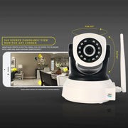 720P Wireless Ip Camera Wifi 960P Video Surveillance Camera Mini 360 Degree Pan Tilt Wi-Fi Cctv-MARVIOTEK WORLD Store-960P Resolution-EU Plug-EpicWorldStore.com