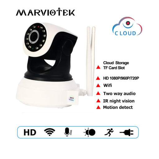 720P Wireless Ip Camera Wifi 960P Video Surveillance Camera Mini Pan Tilt 360 Degree Wi-Fi Cctv-MARVIOTEK Store-960P Resolution-EU Plug-EpicWorldStore.com