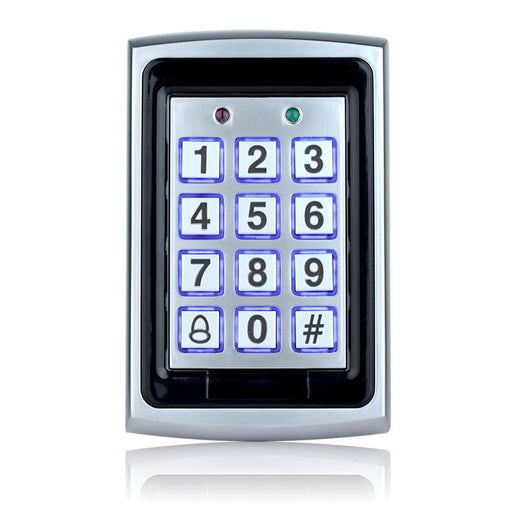 7612 Metal Rfid Access Control Keypad Support 1000 Users 125Khz Id Card Reader Electric Digital-OBO HANDS Official Store-EpicWorldStore.com