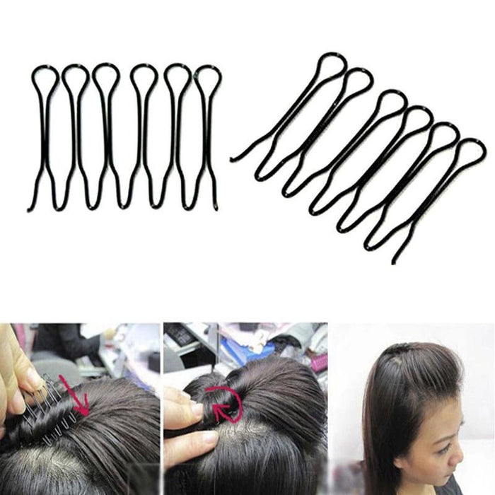 79Pcs/Set Hair Accessories Braider Donut Hair Clips For Women Rubber Band Rope Tie Gum Spring Hair-Accessories-Arherigele Store-EpicWorldStore.com