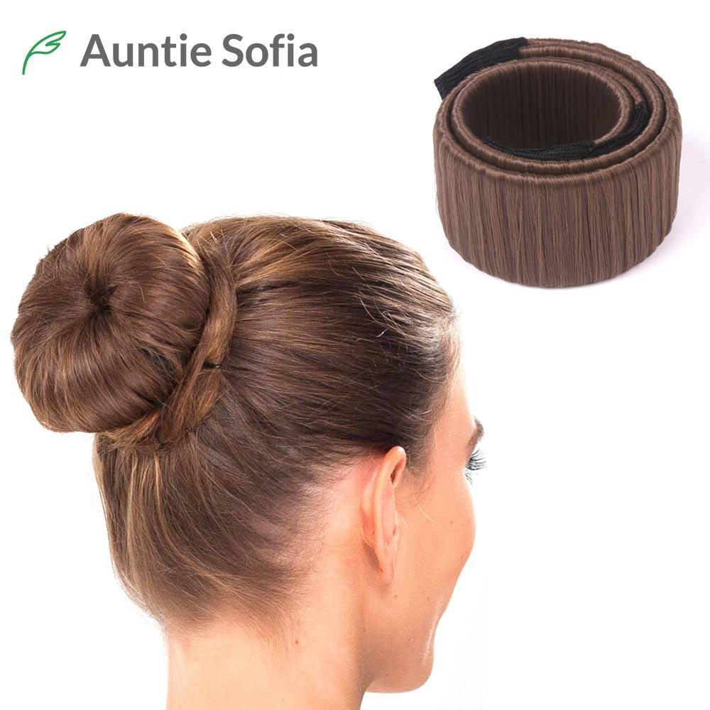 8 Colors Diy Easy Bun Makers Hair Braiders Elastic Hairband Donuts Chignon Magique Magic Styling