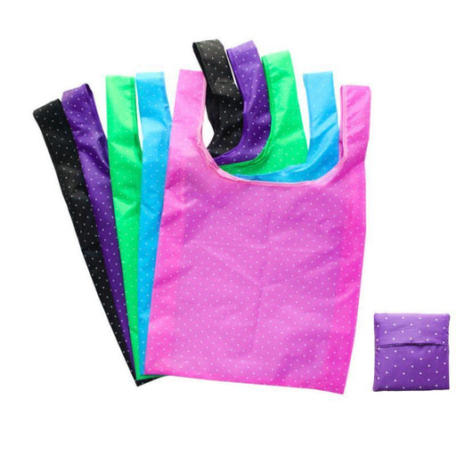 8 Style New Printing Foldable Green Shopping Bag Tote Folding Pouch Handbags Convenient-Functional Bags-OZUKO Backpack Pro Store-1-EpicWorldStore.com