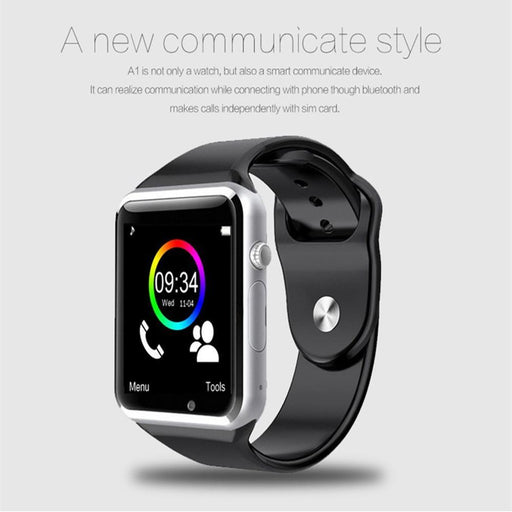 A1 Wristwatch Bluetooth Smart Watch Sport Pedometer With Sim Camera Smartwatch For Android-Smart Electronics-SHZX-TECH Store-green-withbox-EpicWorldStore.com