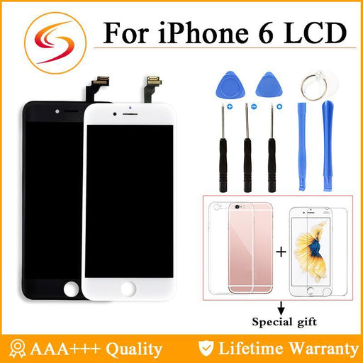 Aaa+++ For Iphone 6 6Plus Lcd With 3D Touch Screen Digitizer Assembly 6S Plus Display 100% Brand New-Mobile Phone Parts-Shenli Electronic Technology (HongKong) Co.,Ltd.-For iPhone 6 Black-EpicWorldStore.com