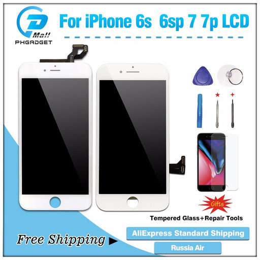 Aaa Lcd Display + Touch Screen Digitizer For Iphone 6S With 3D Touch-Mobile Phone Parts-PhGadget Store-6S black(gift)-EpicWorldStore.com