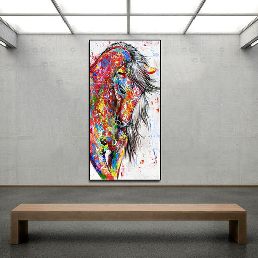 Aavv Big Large Size Oil Painting Animal Wall Art Pictures For Living Room Home Decor Canvas Painting-Painting & Calligraphy-YW ART Store-12X24-EpicWorldStore.com