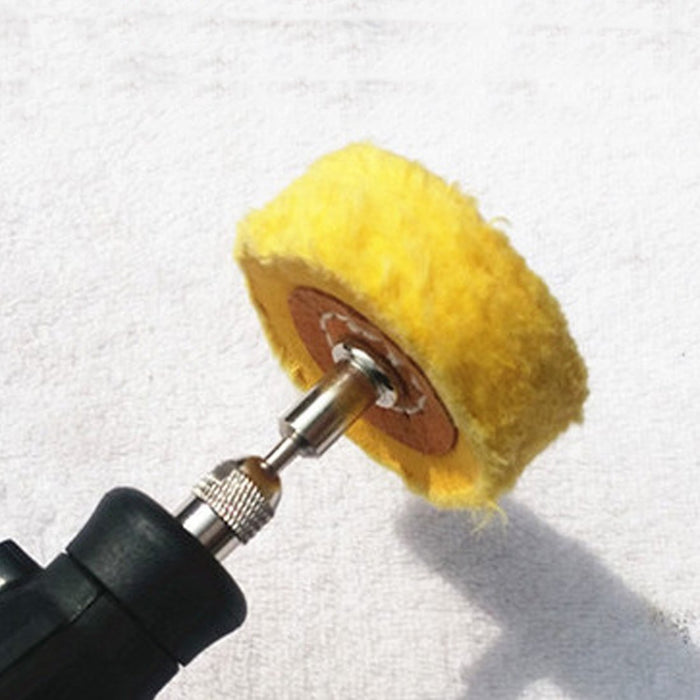 Abrasive Tools T Style Polish Buffing Wheel Grinding Head Cloth Dremel Wheel Grinder Brush For-Abrasive Tools-Relax Yourselves Store-Yellow-EpicWorldStore.com