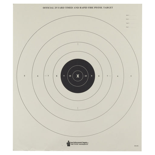 Action Tgt Bullseye Paper 100Pk-Tactical Supply-Action Target-EpicWorldStore.com